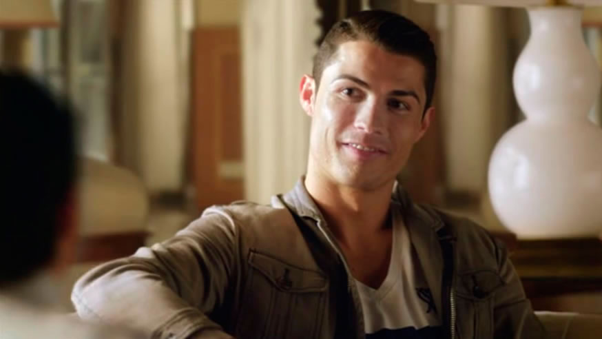 Cristiano Ronaldo - Shooting Spain for Mobily Hotel