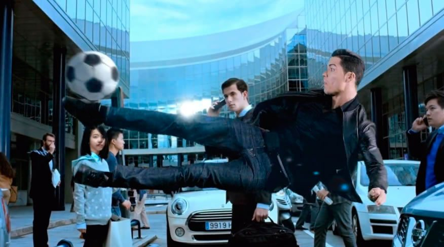Cristiano Ronaldo - Production service for Clear in Spain