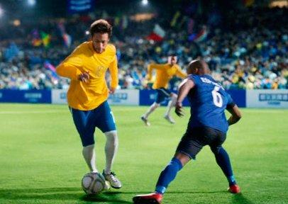 Neymar FIFA - Shooting in Spain for Harbin